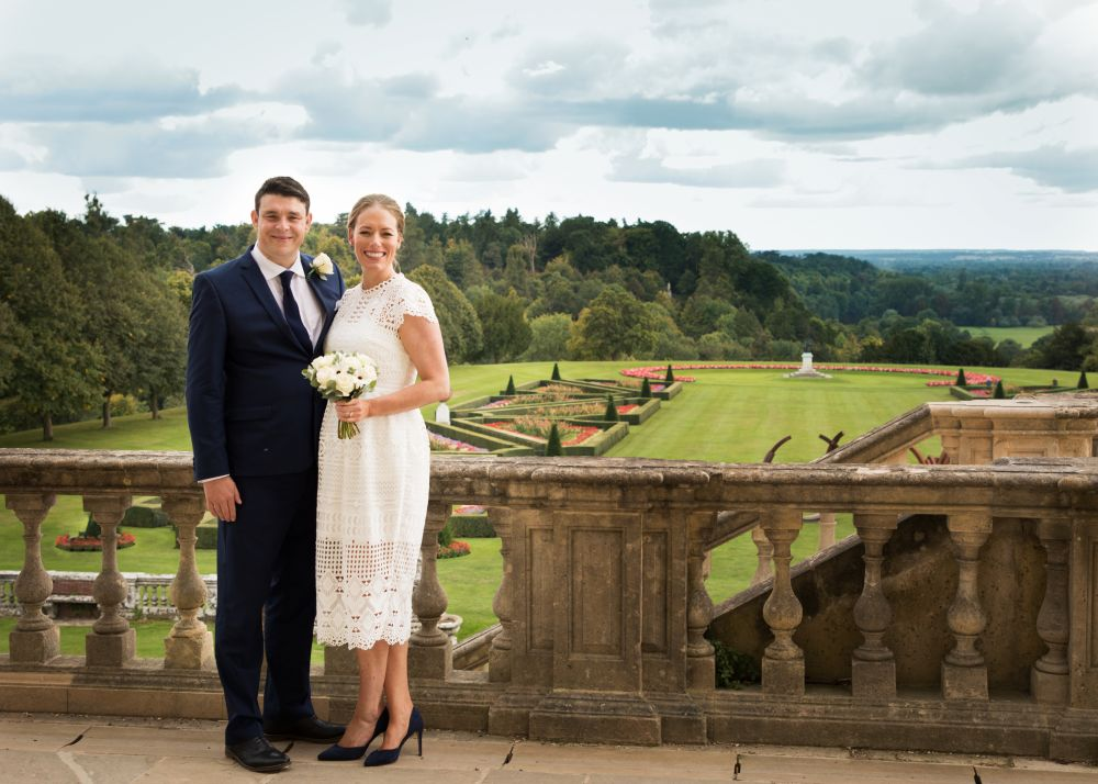 Couple at Cliveden by Abi Moore