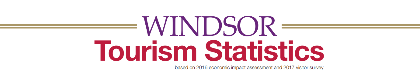 Click here for the Windsor Tourism Statistics Infographic