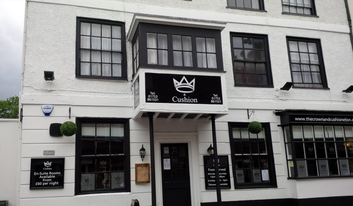 b35456a5cacd The Crown and Cushion - Eton - Visit Windsor