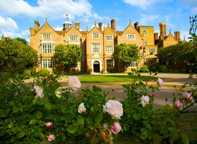 Great Fosters Front Of Hotel With Roses