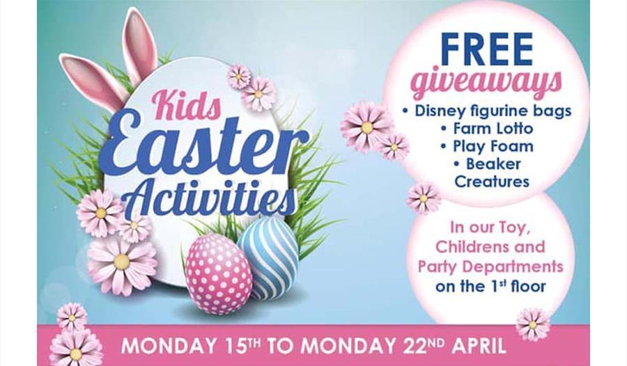 700917e1e779d Kids' Easter Activities at Daniel Department Store - Visit Windsor