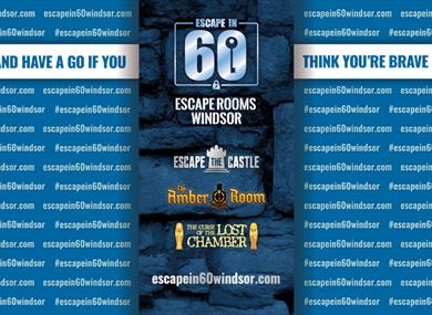 Escape In 60 Windsor: come and have a go if you think you are brave enough!