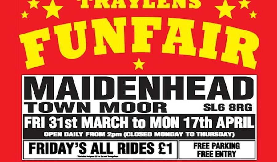 Traylens Fun Fair - Visit Windsor