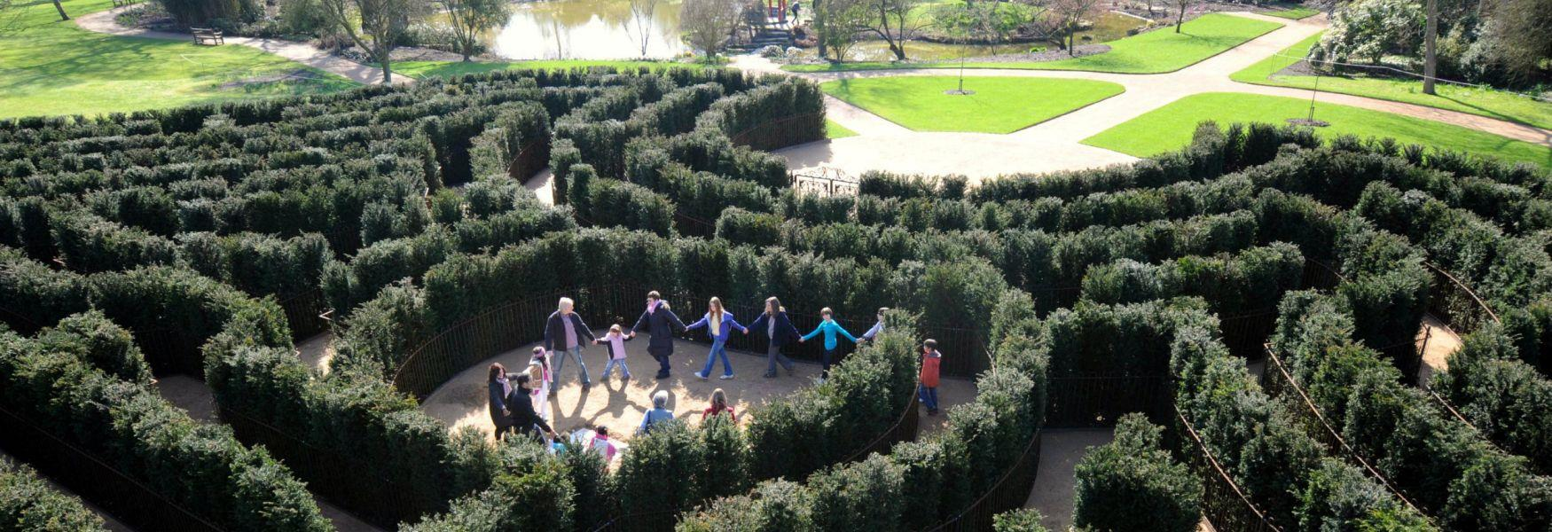 Don't get too puzzled by Cliveden's Maze!