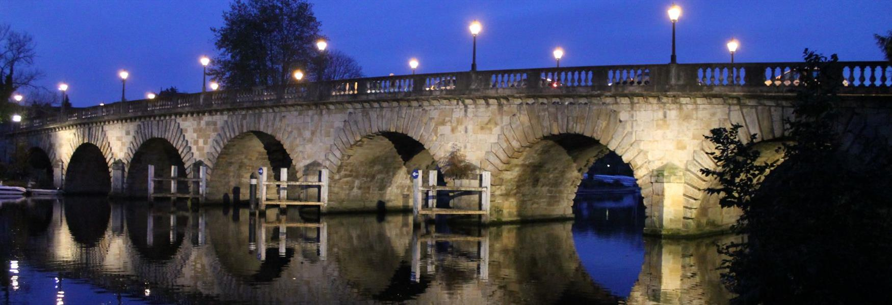 Maidenhead Bridge at Night