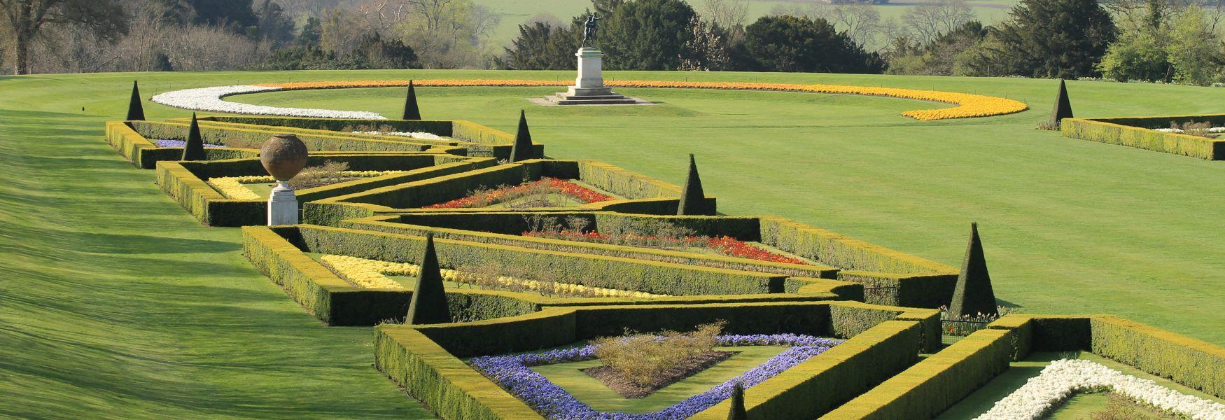 Cliveden's beautiful parterre