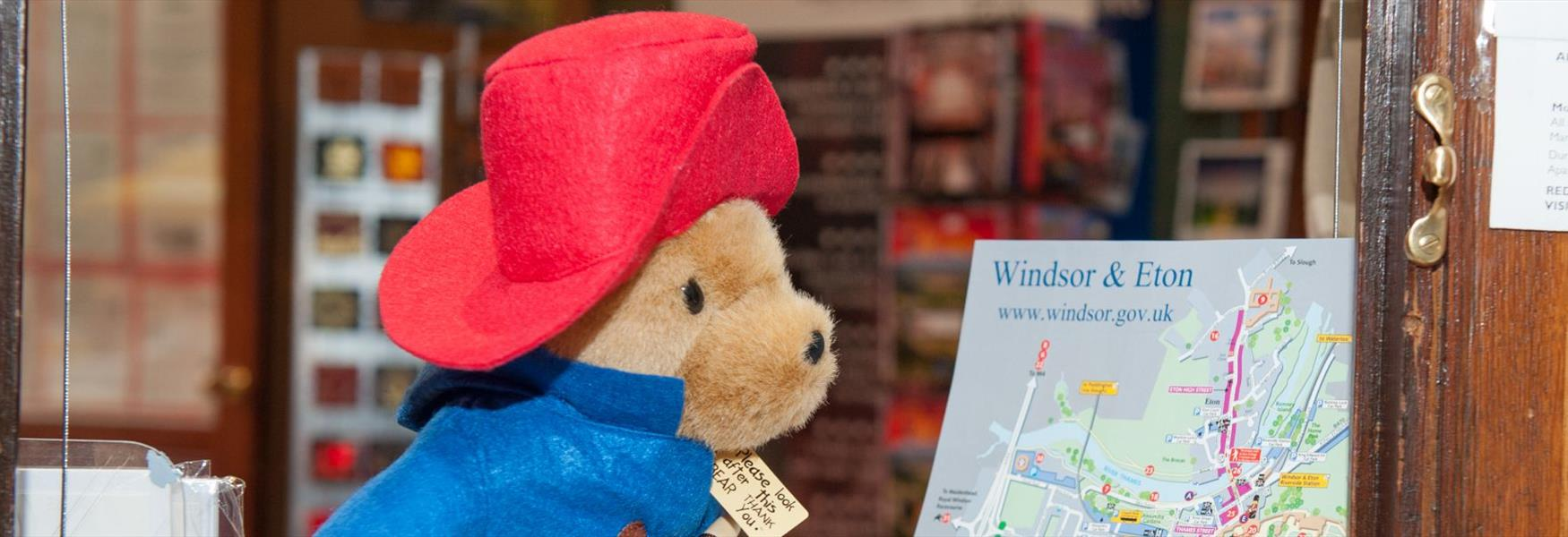 Paddington Bear found our free map invaluable!