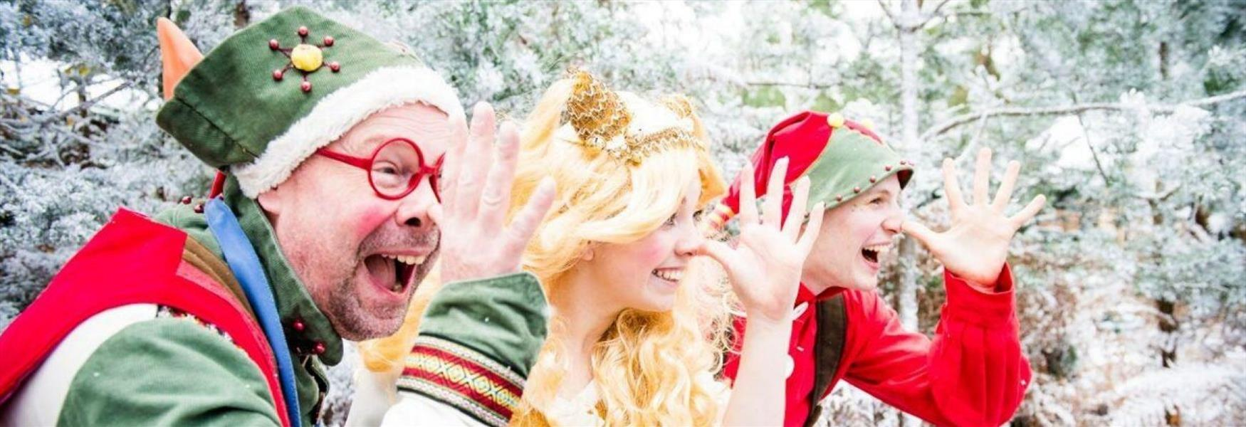 Enjoy the most magical, mystical, Elftastic day of your lives at LaplandUK!