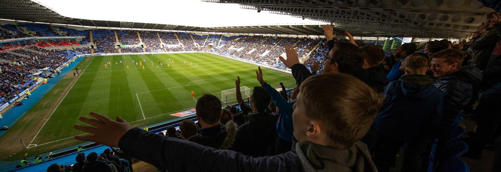 Enjoy a game at nearby Reading Football Club!