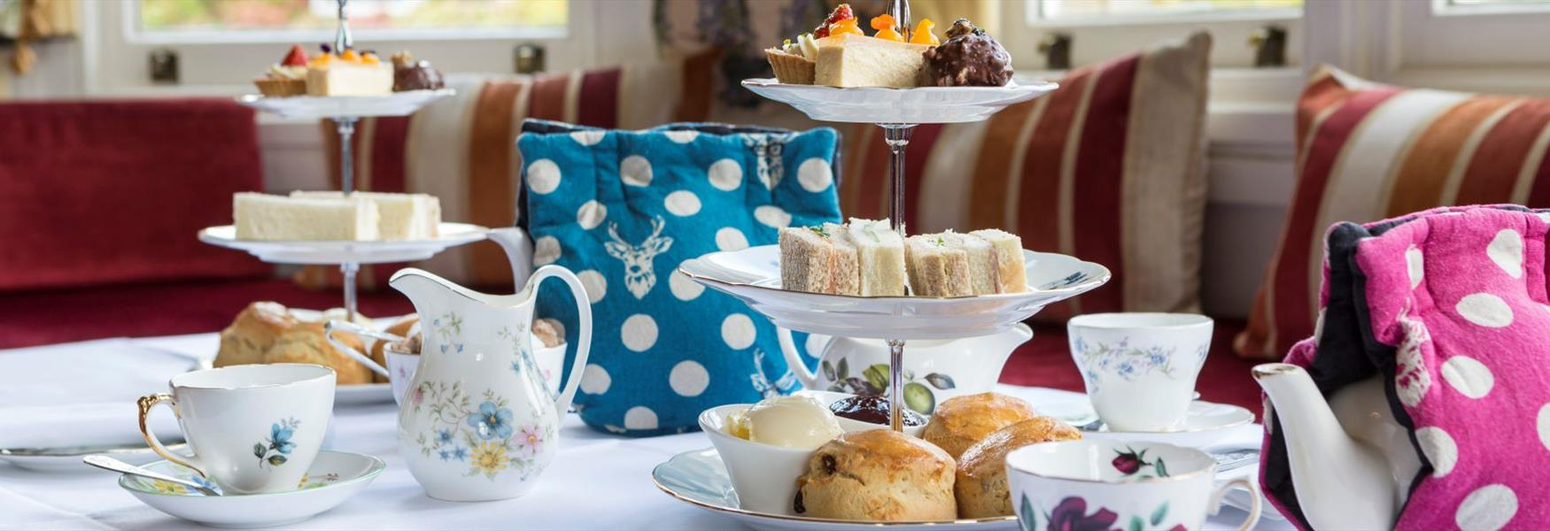 Indulge in an afternoon tea at The Oakley Court