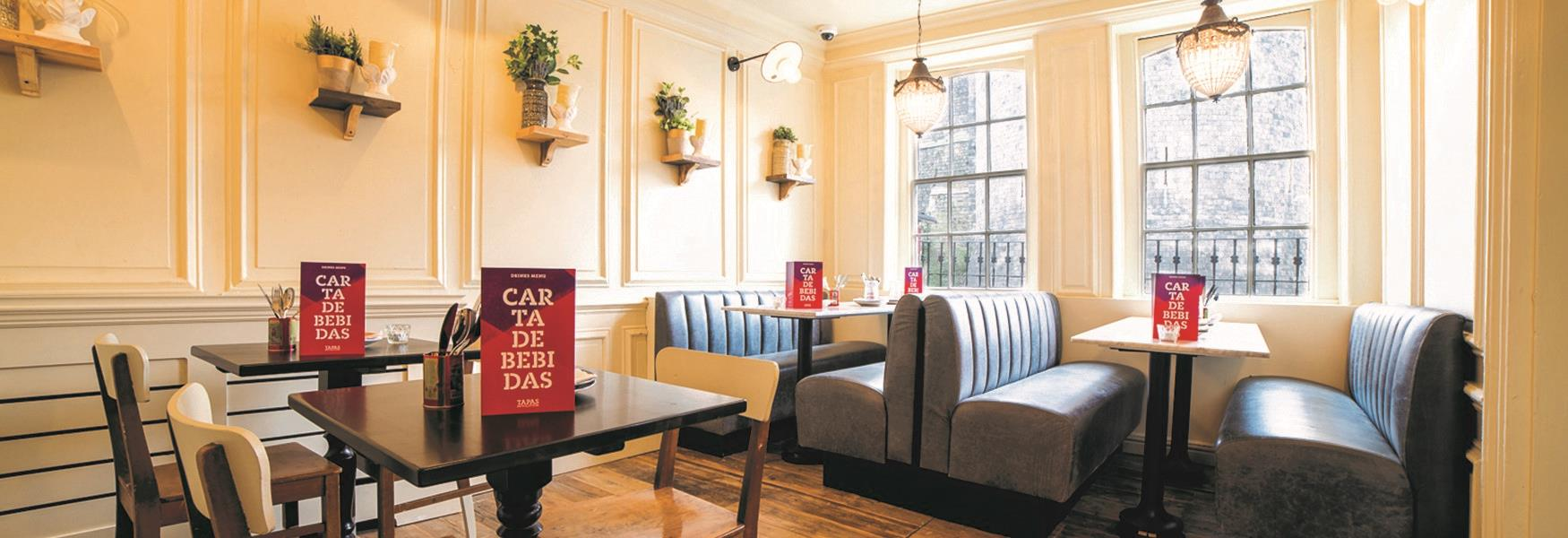 Omar Allibhoy's Tapas Revolution opposite Windsor Castle