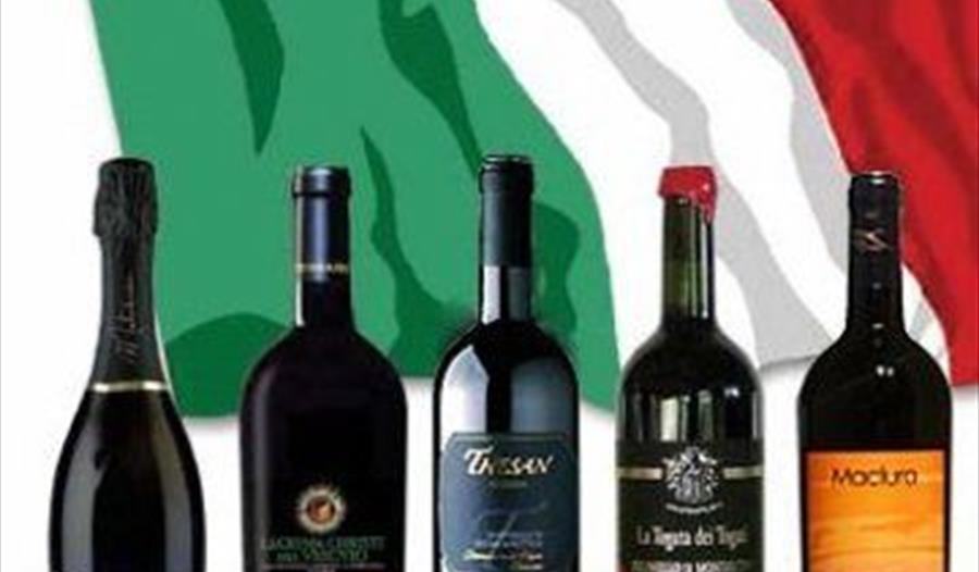 Saturday 'The Wines of Italy' inc. Lunch