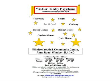 Windsor Holiday Playscheme
