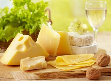 Artisan Cheese and Wine Evening