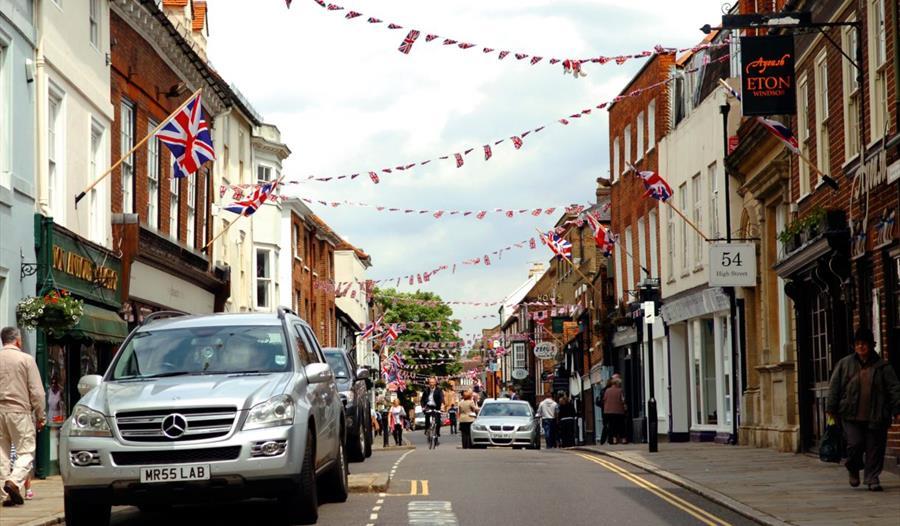 Car Parking Eton High Street