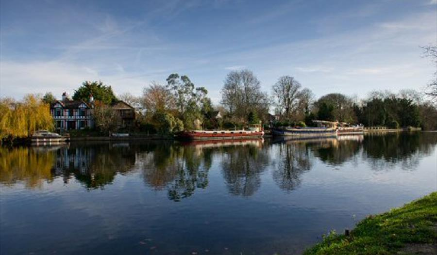 The River Thames at Old Windsor