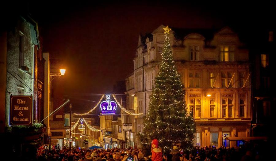 Windsor Christmas Lights Switch on and Lantern Procession