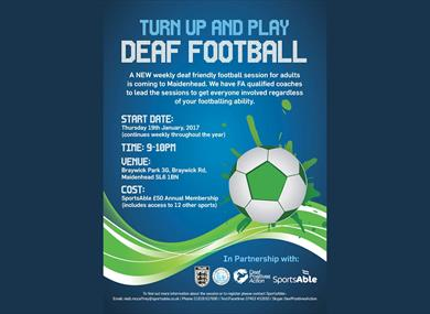 Deaf Friendly Football