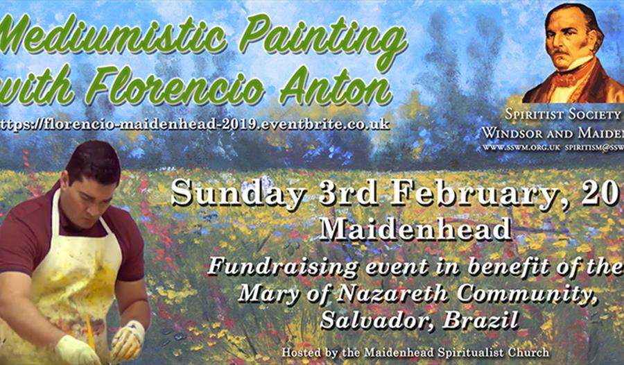 Mediumship Lecture and Painting Demonstration with Florencio Anton