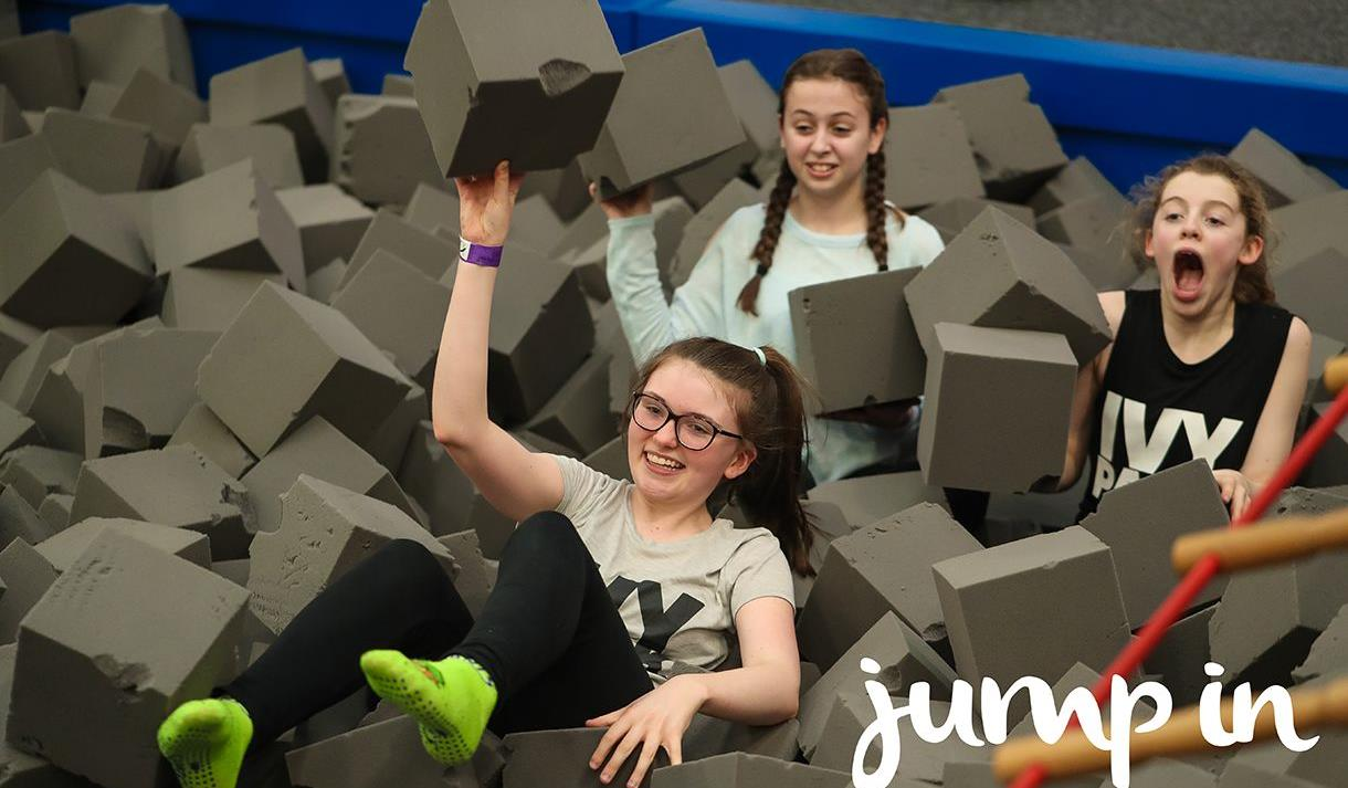 Jump In Trampoline Arena