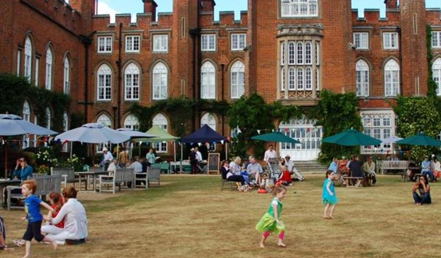 Garden Party at Cumberland Lodge