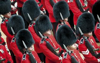 Guards image copyright Doug Harding