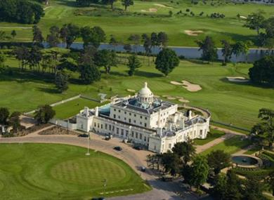 Aerial view of Stoke Park