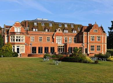 Savill Court hotel exterior and grounds