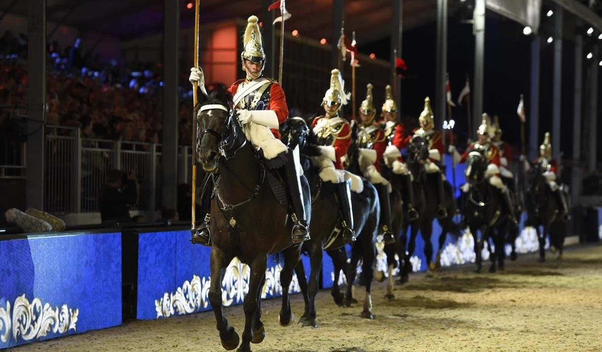 'The Pageant' at the Royal Windsor Horse Show