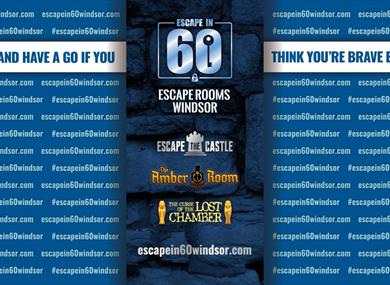 Escape In 60 Windsor