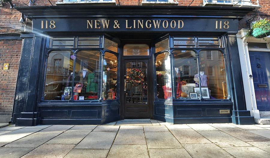 New & Lingwood, quintessential gentlemen's outfitters on Eton High Street