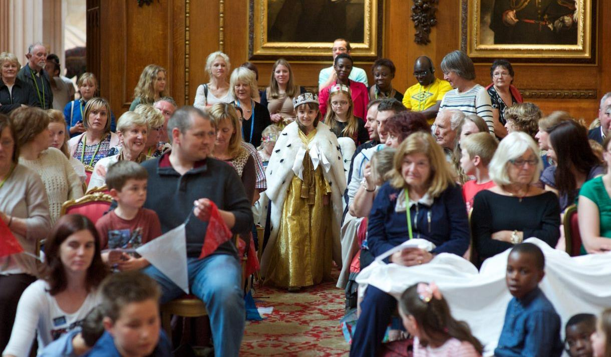 Crowns and Coronations event at Windsor Castle