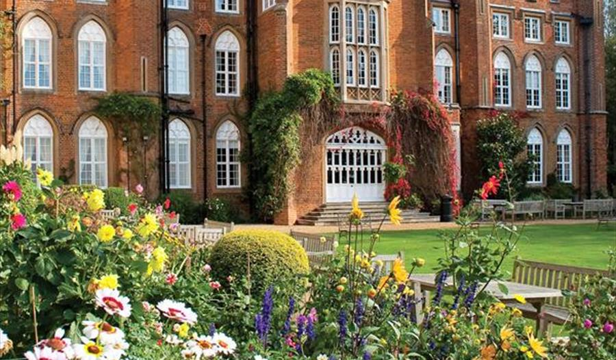 The gardens at Cumberland Lodge