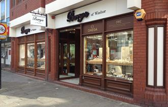 Berry's of Windsor shop front