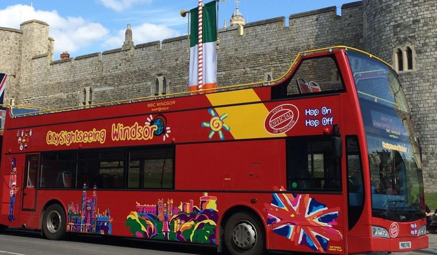 city sightseeing open top bus tours windsor. Black Bedroom Furniture Sets. Home Design Ideas