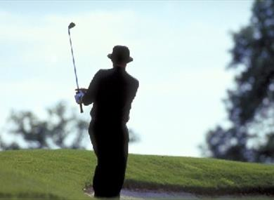 Golfer- Britain on View