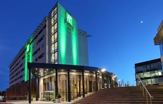 Exterior of Holiday Inn