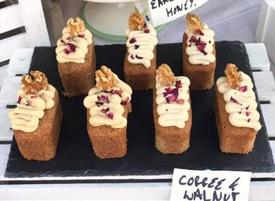 Cakes at Windsor Farmers' Market