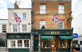 Gilbey's Bar, Restaurant & Townhouse exterior