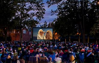 Luna Cinema: outdoor cinema at Ascot Racecourse