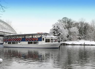Winter boat trips on the River Thames, Windsor, with French Brothers Boats