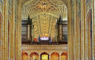 The Nave of St George's Chapel, Windsor Castle