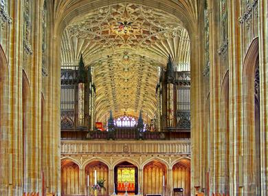 St George's Chapel nave