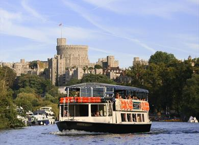 Windsor Majesty on the Thames at Windsor