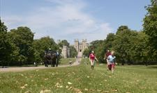View of Windsor Castle from Windsor Great Park